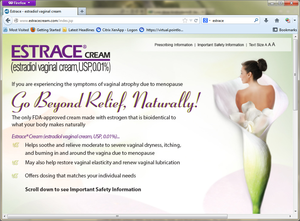 Estrace coupon